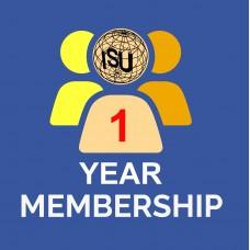 1 Year Individual ISU Membership 2021